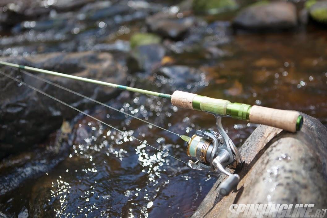 спиннинг для ловли форели и щуки