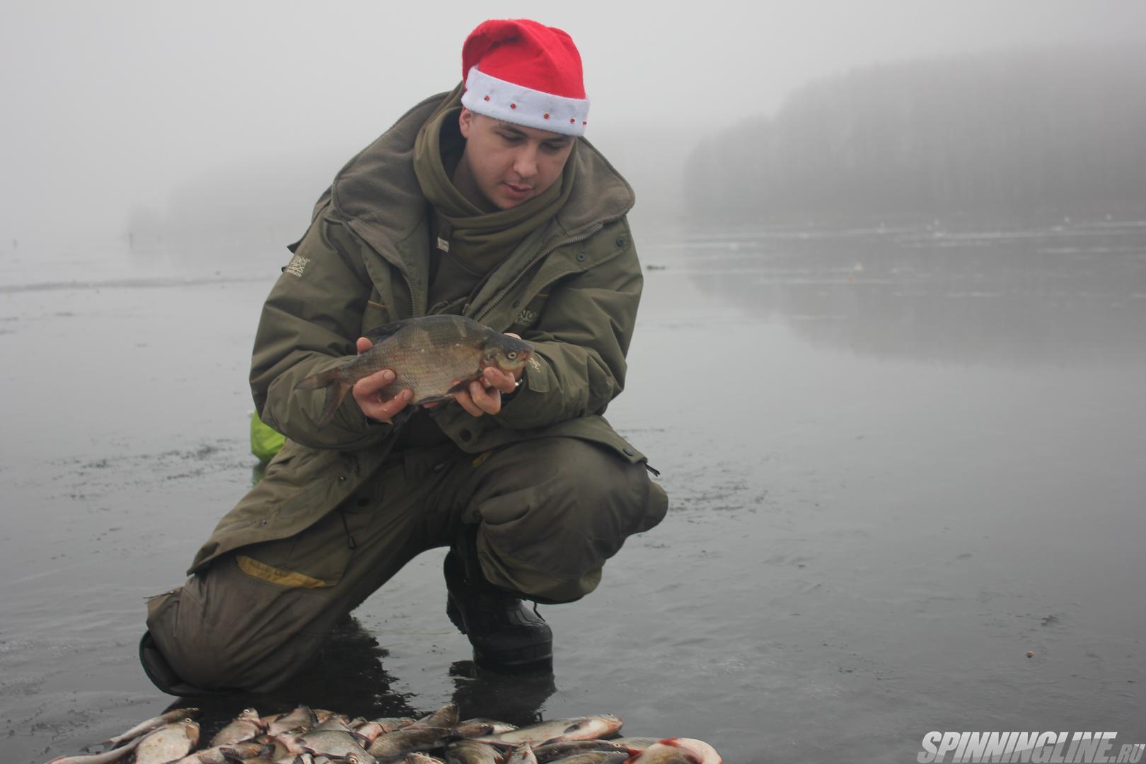 Зимняя рыбалка на десногорском водохранилище плотвы в марте